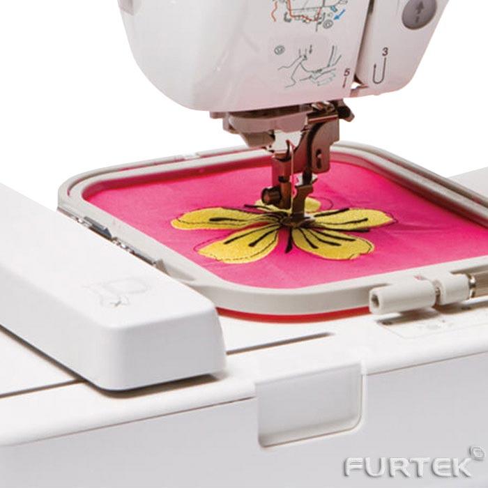 Вышивка на швейной машине - пример