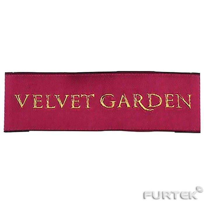 Этикетка Velvet Garden жаккардовая