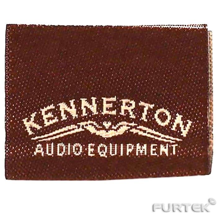 Жаккардовые этикетки Kennerton Audio Equipment