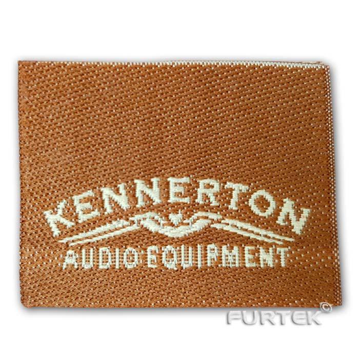 Жаккардовые этикетки Kennerton Audio Equipment фото